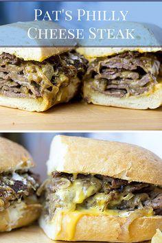 Philly Cheese Steak Sandwich, Steak Sandwich Recipes, Steak Recipes, Copycat Recipes, Cooking Recipes, Budget Cooking, Cheese Whiz, Cheesesteak Recipe, Cheese Steaks