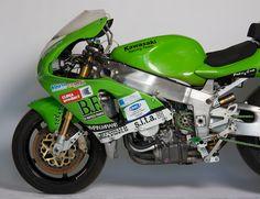 Kawasaki World Superbike 1998 – SuperBolide - Motorcycle Usa Kawasaki Zx7r, Kawasaki Motorcycles, Racing Motorcycles, Buy Helmet, Sportbikes, Motorcycle Design, Racing Team, Custom Bikes, Motogp