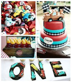 Car Themed 1st Birthday Party via Kara's Party Ideas KarasPartyIdeas.com Cake, printables, tutorials, supplies, food, and more! #carparty #carsparty #carsbirthdayparty (1)
