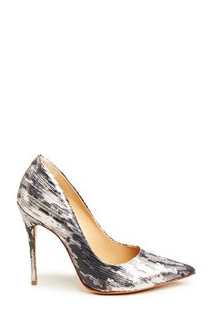 Schutz Gilberta Heels in Metallic
