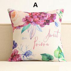 Flower pillow Pastoral style home decoration decorative pillows