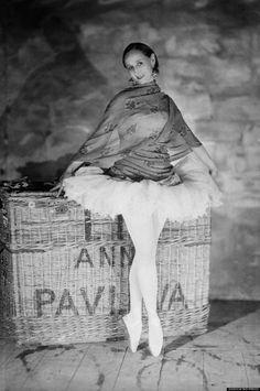 Famed ballet dancer Anna Pavlova posing for a portrait in Belgium on September 16, 1927. (AP Photo)
