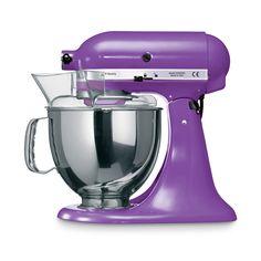 Küchenmaschine Artisan 4,8 l lila 6 tlg.