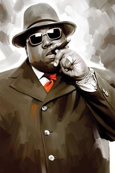 Biggie Smalls Notorious Big Rap Hip hop Original Artwork Wall Decor Artist Signed Canvas Print * 4 Large 30 x 18 * You can get more details by clicking on the image-affiliate link. Biggie Smalls, Arte Do Hip Hop, Hip Hop Art, Hiphop, Hip Hop Classics, Rapper Art, Psy Art, American Rappers, 3 Arts