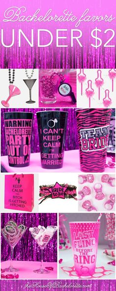 There are plenty of fun bachelorette party ideas that you can implement into your bash. Let the bride get wild one last time before her big day. Bachelorette Party Planning, Vegas Bachelorette, Bachelorette Party Favors, Party Kit, Party Banner, Before Wedding, Just In Case, Wedding Ideas, Geek Wedding