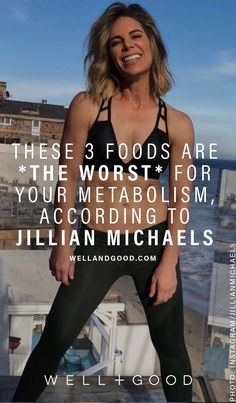 According to coach Jillian Michaels (and a pair of nutritionists), these are the ingredients that may sabotage your metabolism if you eat them in excess. 30 Day Low Carb Diet, Low Carb Diet Plan, Slow Metabolism, Improve Metabolism, Metabolism Booster, Metabolism Supplements, Detox Cleanse For Weight Loss, Best Diet Drinks, Detox Drinks