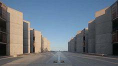 The Tranquility of Louis Kahn's Salk Institute #1950s #Kahn #video