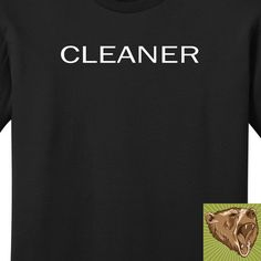 Broad City Cleaner Shirt Screen Printed TShirt Tee von ManBearWear, $16.98