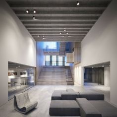 New build gallery, studio, house and apartment for graphic and...