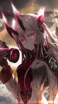 New wall paper anime demons ideas Fille Anime Cool, Art Anime Fille, Cool Anime Girl, Girls Anime, Beautiful Anime Girl, Anime Art Girl, Manga Girl, Manga Kawaii, Chica Anime Manga