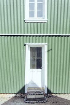 Icelandic Architecture via Heima blog.
