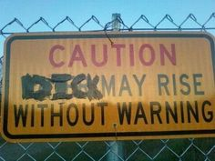 You have been warned !
