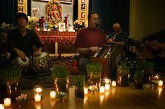 Krishna Das at Jivamukti Yoga, benefit for Ananda Ashram, May 7 2009