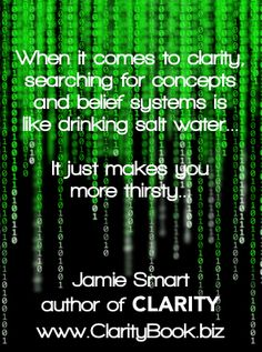 Clarity: Habitual Thought Patterns (by Jamie Smart) ♯Clarity ♯InnateThinking Disruptive Innovation, True Identity, Little Books, Peace Of Mind, Clarity, Sustainability, Insight, Life Coaching, Things To Come
