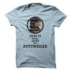 Love my rottweiler T Shirts, Hoodies. Get it now ==► https://www.sunfrog.com/Pets/Love-my-rottweiler.html?57074 $19