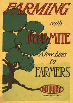 Farming with dynamite, oh, just a few tips and pointers before you get started !
