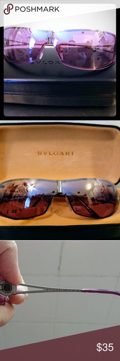 Bvlgari sunglasses Authentic, no scratches, excellent condition, made in Italy Bulgari Accessories Sunglasses