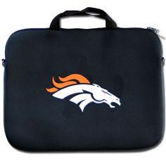 Denver Broncos NFL Neoprene Laptop Case