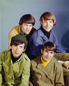 The Monkees at the beginning in 1966