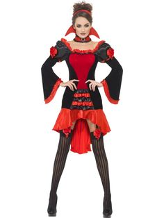 Fever Boudoir Vampiress Costume £45.99 : Direct 2 U Fancy Dress Superstore. Fancy Dress, Party Themes & Accessories For The Whole Family. http://direct2ufancydress.com/fever-boudoir-vampiress-costume-p-5944.html