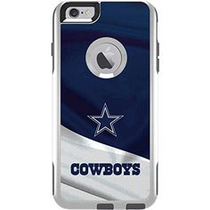 $16.99 NFL Dallas Cowboys OtterBox Commuter iPhone 6 Plus Skin -...