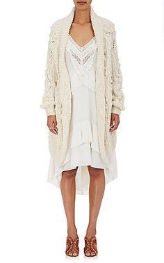 Ulla Johnson Gwendolyn Cotton Oversized Cardigan - Sweaters - 505216876