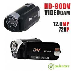 HD-90dv VideoCam 720P Online Shopping, Lens, Electronics, Net Shopping, Klance, Lentils, Consumer Electronics