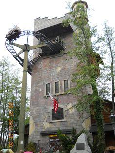 Matterhorn-Blitz @ Europa Park - Rust, Germany (indoor/outdoor wild mouse-type coaster).