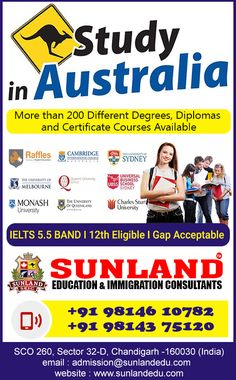 Pte Exam, Australia Visa, Certificate Courses, Overseas Education, Ielts, Communication Skills, Chandigarh, Study Abroad, Higher Education