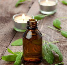 """Sage oil - Dr. Axe A 2014 study published in the Journal of Phytotherapy Research found that inhalation of clary sage oil had the ability to reduce cortisol levels by 36% and improved thyroid hormone levels (TSH). The study was done on 22 post-menopausal women in their 50's, some of which were diagnosed with depression and at the end of trial the researchers stated that """"clary sage oil had a statistically significant effect on lowering cortisol and had an anti-depressant effect improving…"""