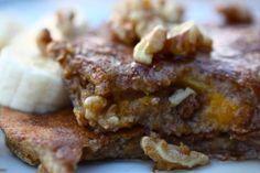 Whole Wheat Butternut Squash Pancakes