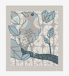 The Birdwatcher Knit Blanket | Home Decor & Lighting | loop collection | Scoutmob Shoppe | Product Detail