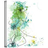 Found it at Wayfair - Jan Weiss 'Green Botanica' Gallery-Wrapped Canvas Wall Art