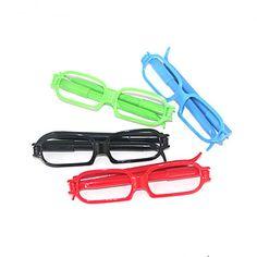 Shaped Glasses-caneta esferográfica (cor aleatória) – BRL R$ 3,77