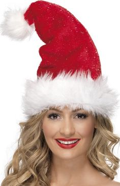 Berretto di Natale di lusso adulto http://www.vegaoo.it/berretto-di-natale-di-lusso-adulto.html