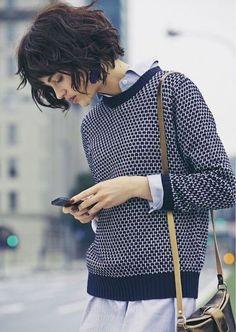Французская стрижка: европейский стиль для ваших волос! Смотрится потрясающе!