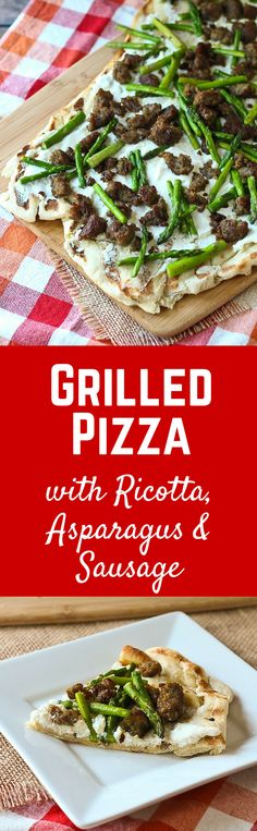 Grilled Pizza with R