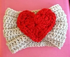 How cute is this headband?!?! Super cute and unique little addition to any style. A bright red heart adorns this sweet little accessory. This will