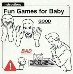 Worst game to play with baby