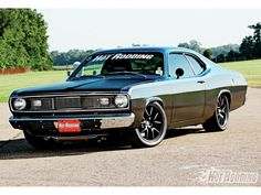 plymouth duster | 1971 Plymouth Duster Front Three Quarter