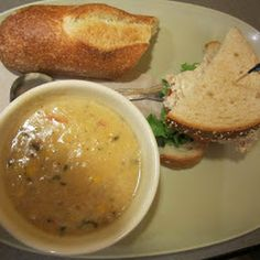 Panera Summer Corn Chowder (Copy Cat) I would use pablano pepper instead of the green pepper.