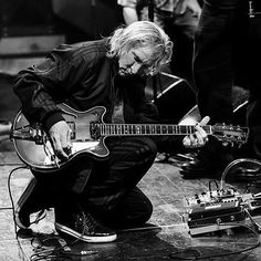 Follow @kw3hmd on Instagram: From: @iduesenberg -  @joewalshofficial getting things ready at sound check for the show. #joewalsh #signature #duesenberg #gear #guitar #germany #geartalk #Regrann