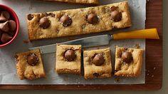 Recipe Source Online: Peanut Butter Blossom Bars -  Whatever you do... D...