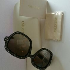 cacde520d696 Selling this  NEW  VALENTINO CAMOUFLAGE RHINESTONE Sunglasses in my Poshmark  closet! My username