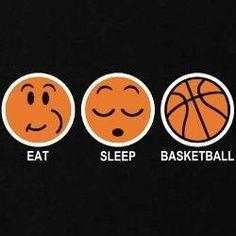 #eat #sleep #basketball