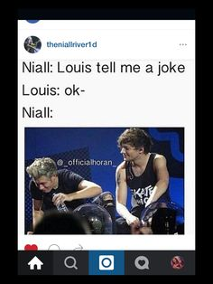 Lol... Says niall everyday