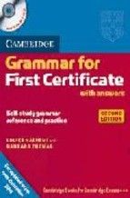 33,70€ cambridge grammar for first certificate with answers and audio cd (2nd ed.)-louise hashemi-9780521690874