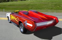 "1965 PLYMOUTH BARRACUDA CUSTOM ""FIREBALL 500"" - Barrett-Jackson ..."