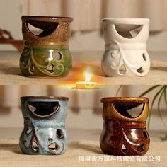 Countdowns cerâmica vaporizador fragrância óleo de lote misto de vela(China (Mainland))