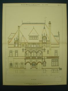 St. Christopher's Home on East 88th Street , New York, NY, 1899, Barney & Chapman